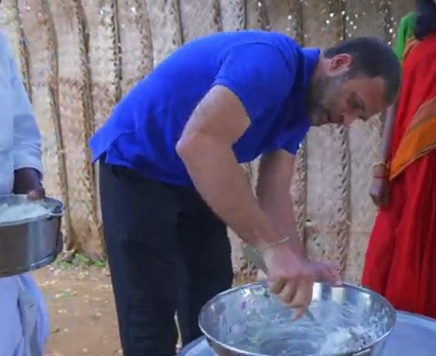 சமைக்கும் ராகுல்