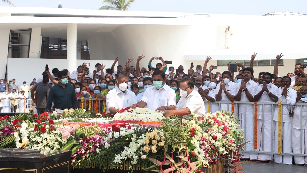 ஜெயலலிதா நினைவிடத் திறப்புவிழா
