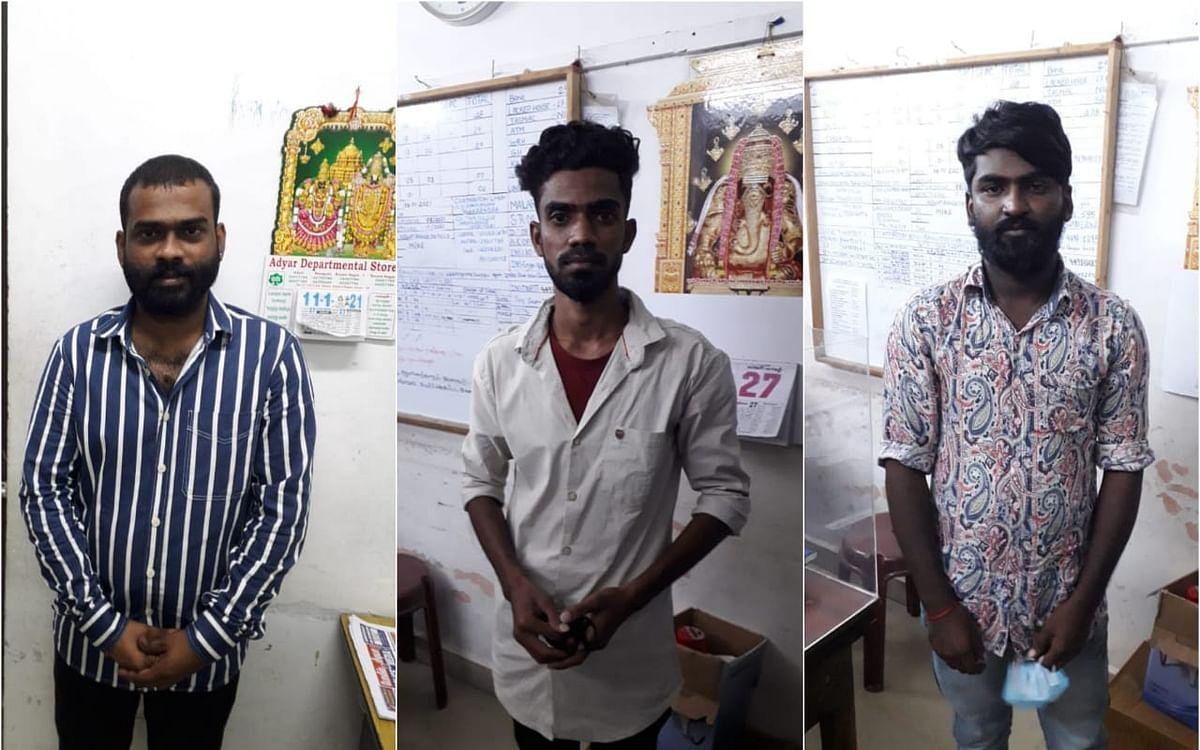 சென்னை: யூடியூப் சேனலுக்காக பெண்களிடம் ஆபாசமாகப் பேட்டி- உரிமையாளர் உட்பட 3 பேர் கைது!