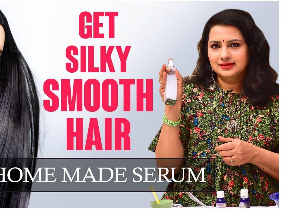 வலுவான, அழகான கூந்தல் பெற இதை Try பண்ணுங்க! | DIY Hair Serum | Vasunthara Tips
