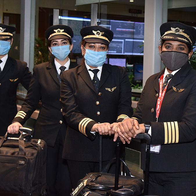 Women pilots, Air India