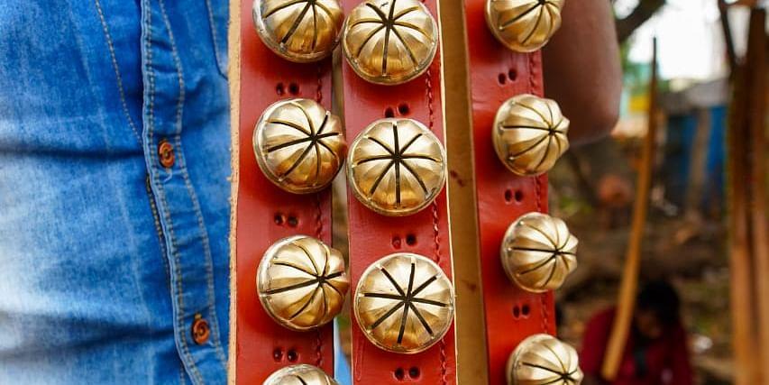 ஜல்லிக்கட்டுக் காளைக் கழுத்துமணி