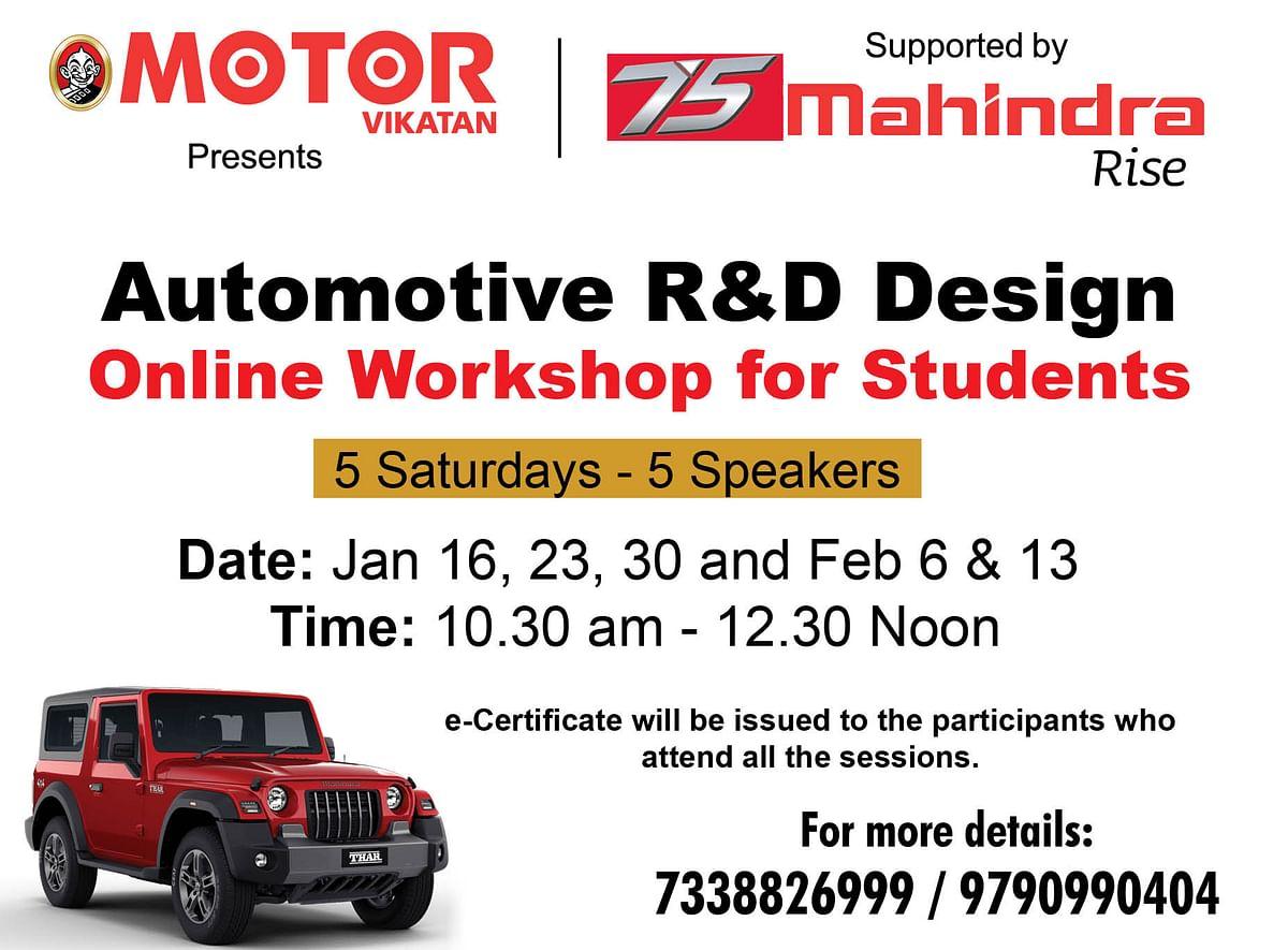 Online Workshop Details