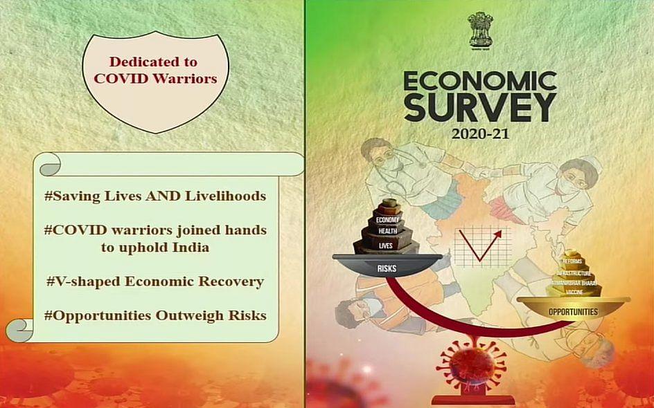 Union Budget 2021: பொருளாதார ஆய்வறிக்கை வெளியீடு... நம்பிக்கை கொடுத்த நிர்மலா சீதாராமன்!
