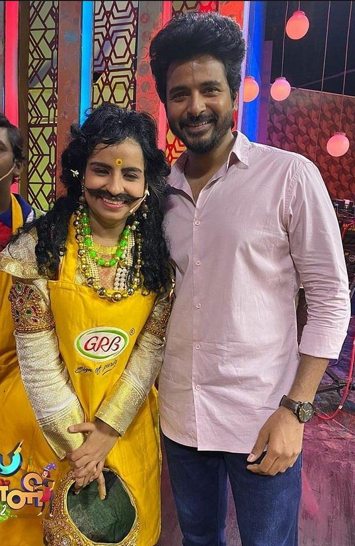 சிவகார்த்திகேயனுடன் ஷிவாங்கி