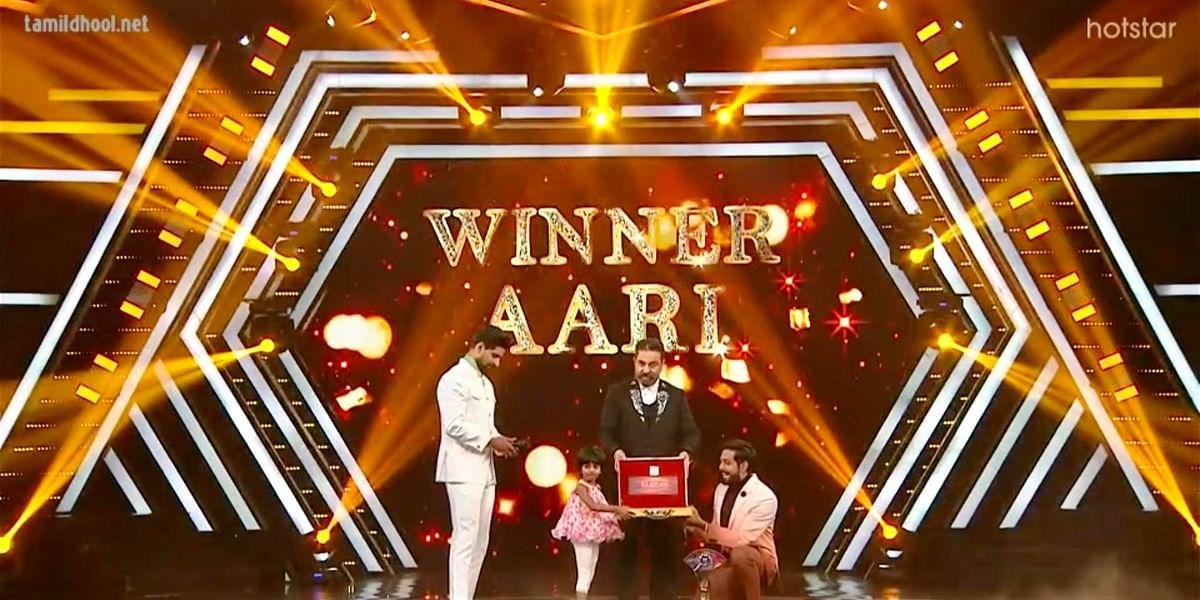 Bigg boss tamil season 4 Winner Aari Arjunan