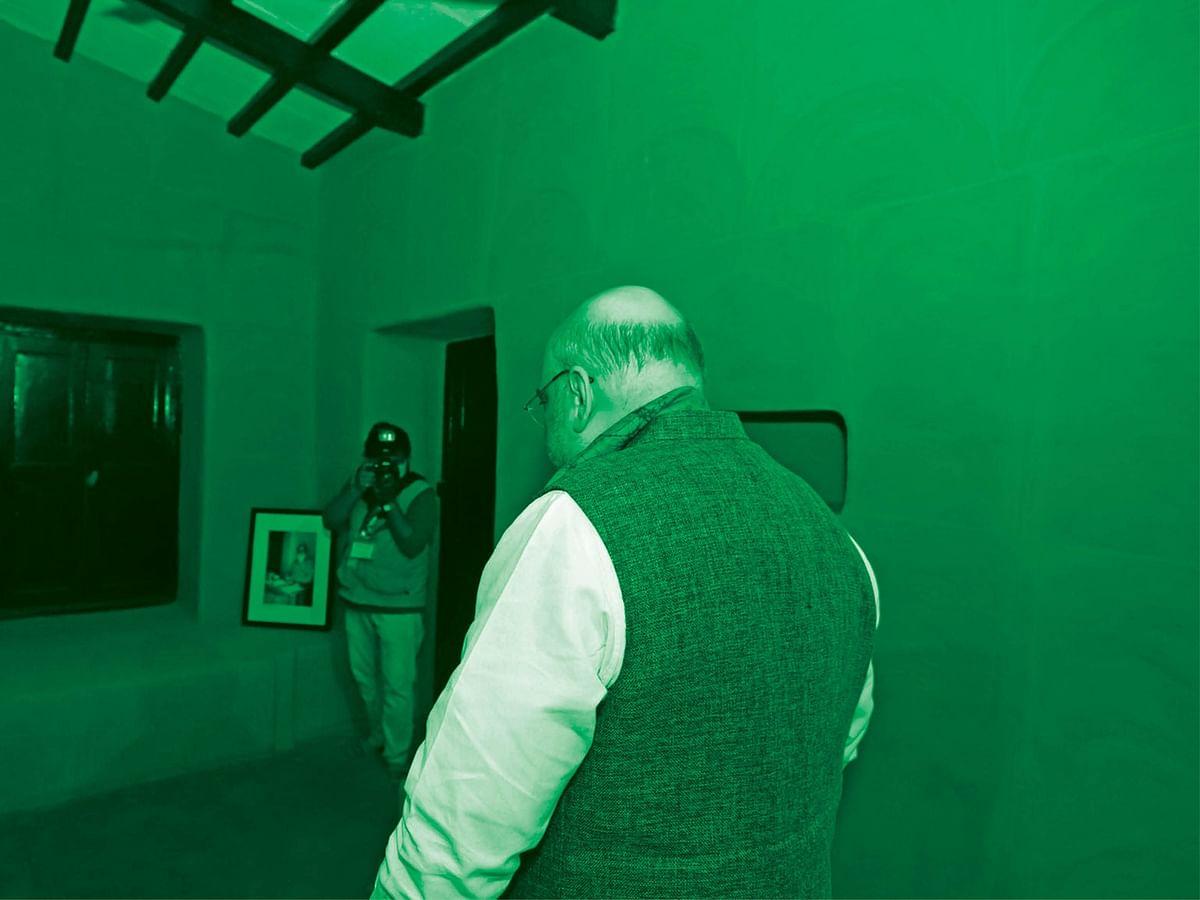 மிஸ்டர் கழுகு: அமித் ஷா ஆப்சென்ட்... ஆடிட்டர் அப்செட்!