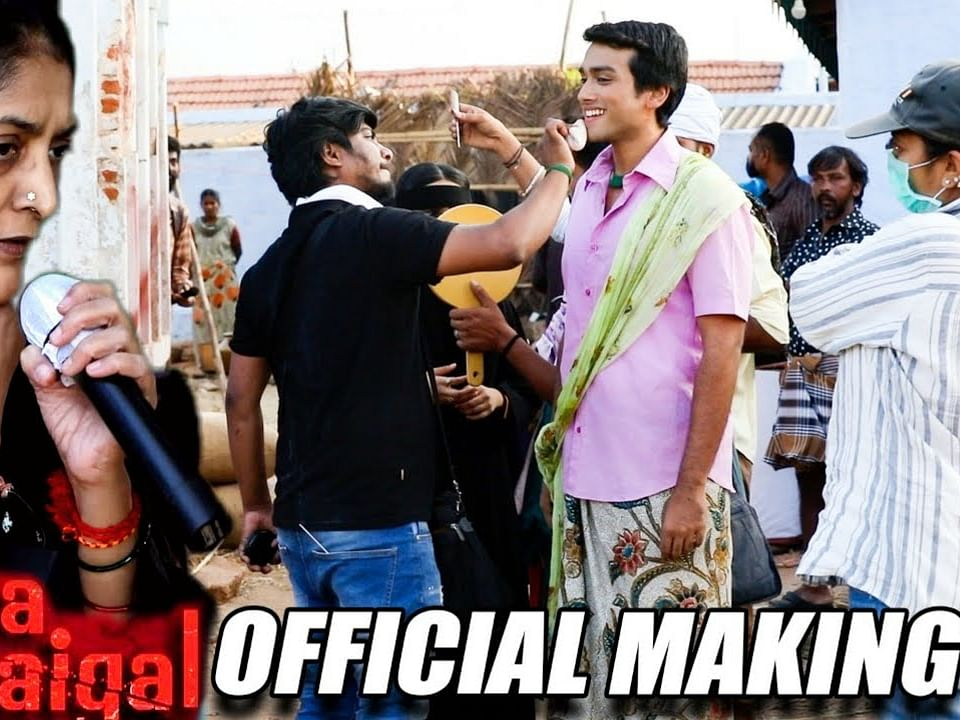Thangam Official Making Video | Paava Kadhaigal | Sudha Kongara | Kalidas | Shanthanu