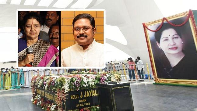 சசிகலா - தினகரன் - ஜெயலலிதா