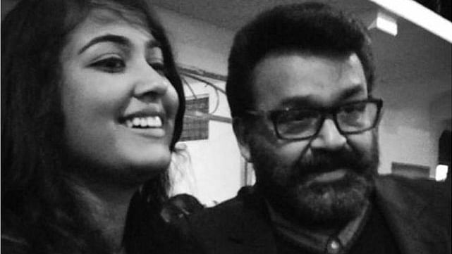 Vismaya with Mohanlal