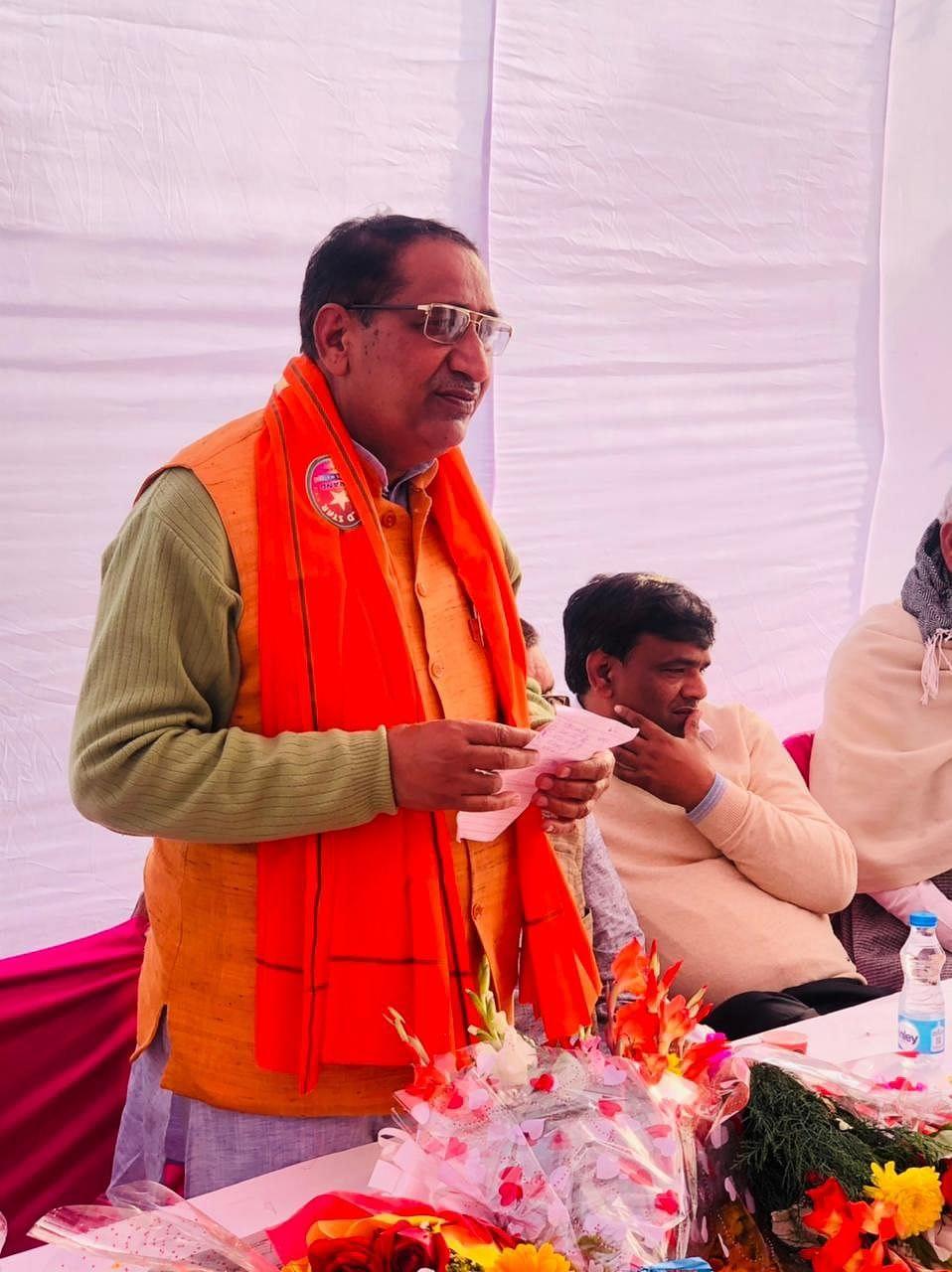 பா.ஜ.க எம்.எல்.ஏ தேஜ்பால் நகர்