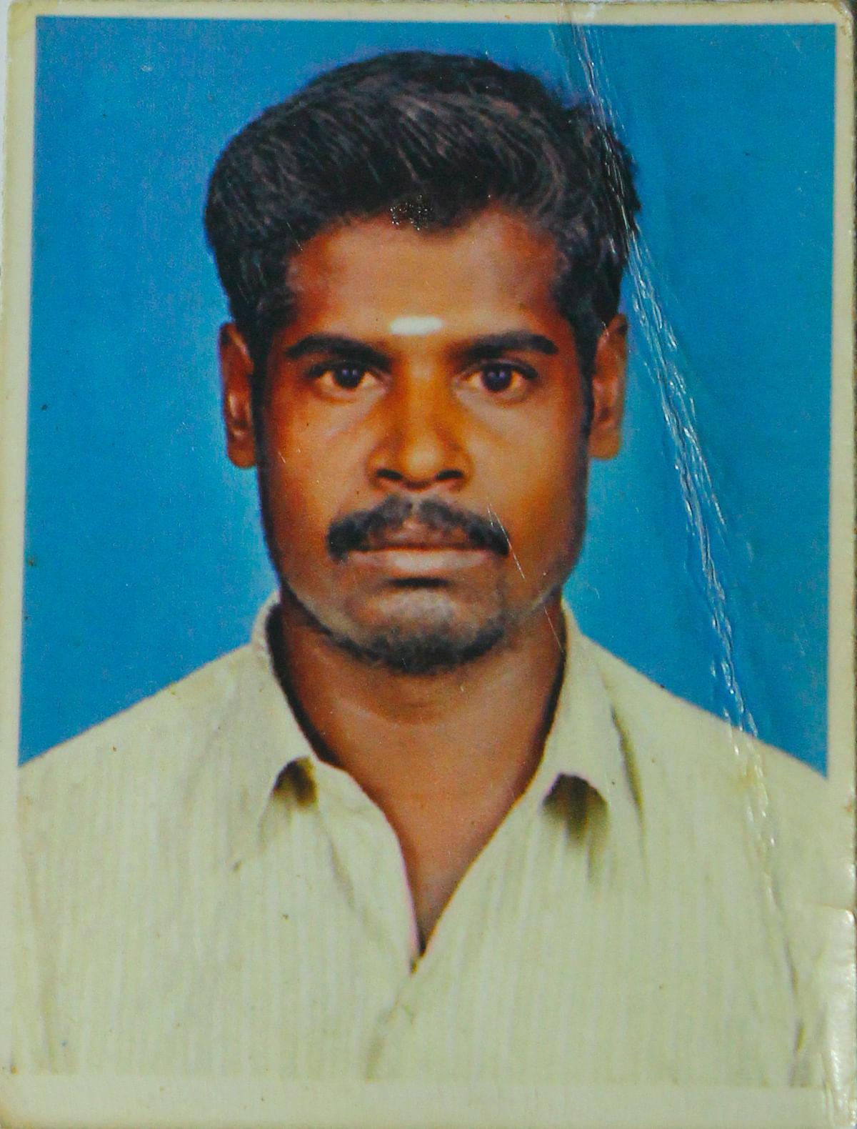 கீதாவின் கணவர் செல்வராஜ்