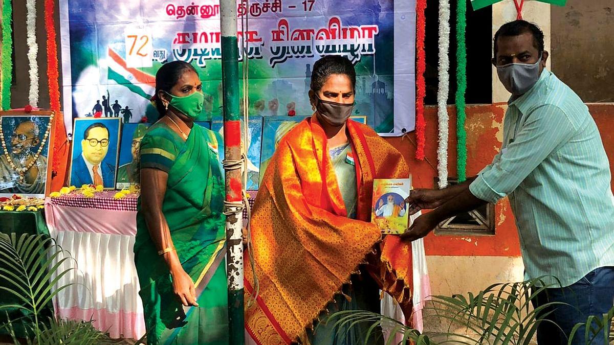 திருநங்கை சினேகா.