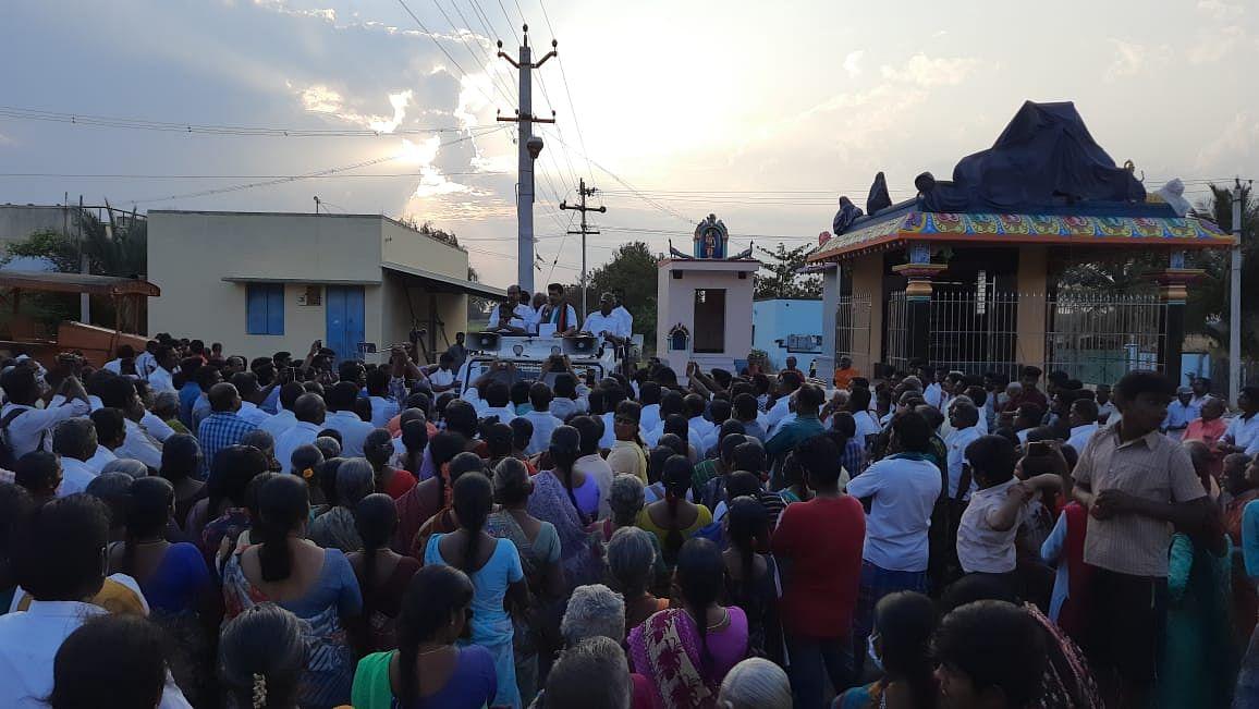 பிரசாரத்தை தொடங்கிய செந்தில் பாலாஜி