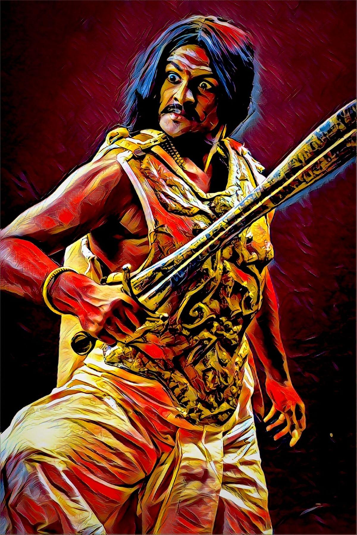 சங்க காலத்து போர் வீரர்