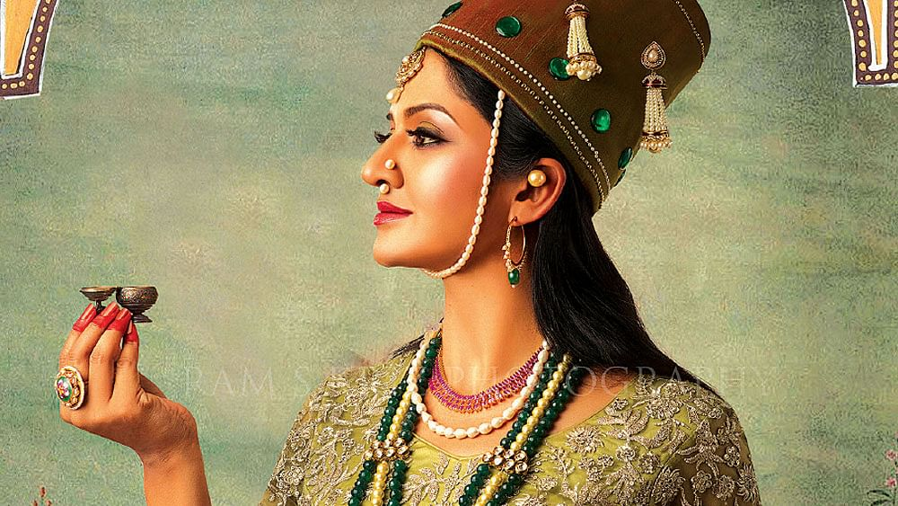 நூர்ஜஹானாக நடிகை விமலா ராமன்...