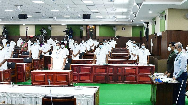 தமிழக சட்டப்பேரவைக் கூட்டம் - கலைவாணர் அரங்கம்