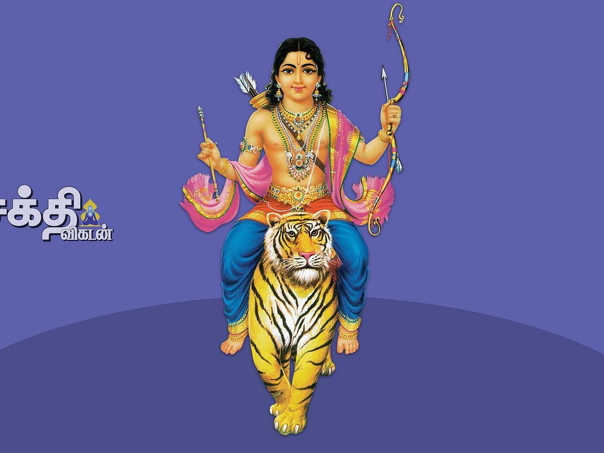 மனைவி மகனுடன் சாஸ்தா தரிசனம்!