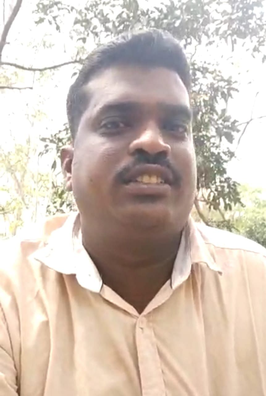 உயிரிழந்த வனக்காப்பாளர் பிரபாகரன்