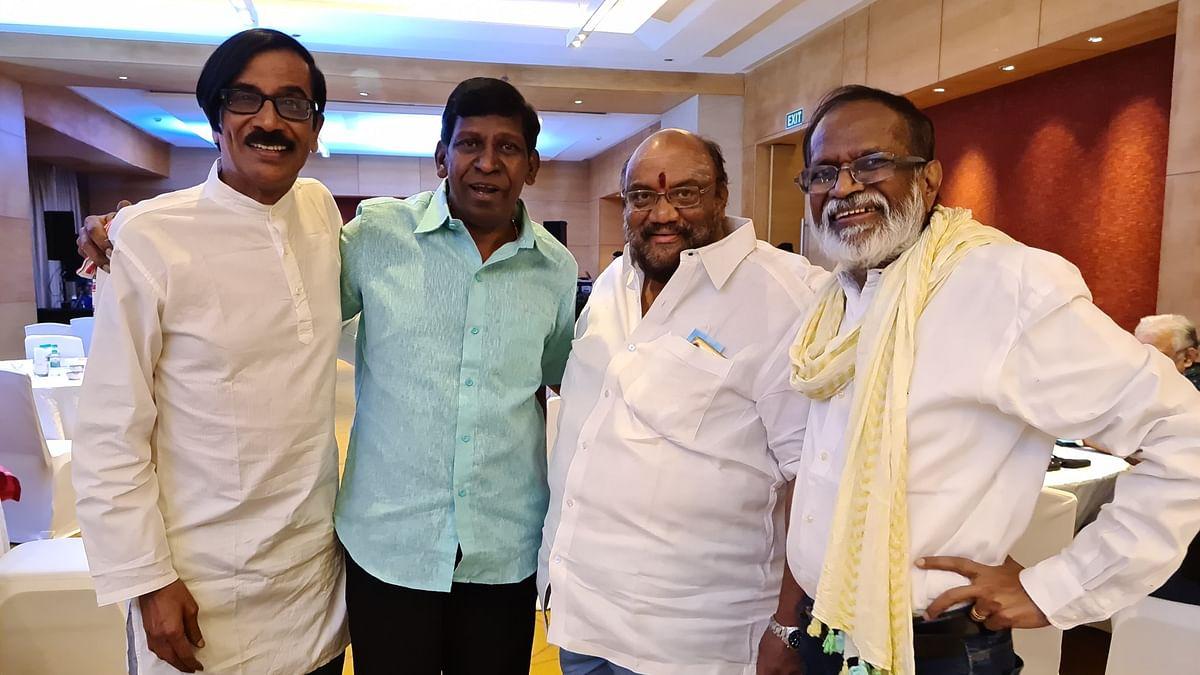 மனோபாலா, வடிவேலு, சந்தானபாரதி, கங்கை அமரன்