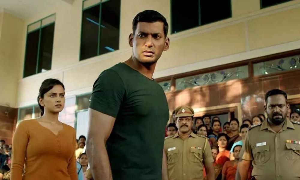 Chakra movie stills