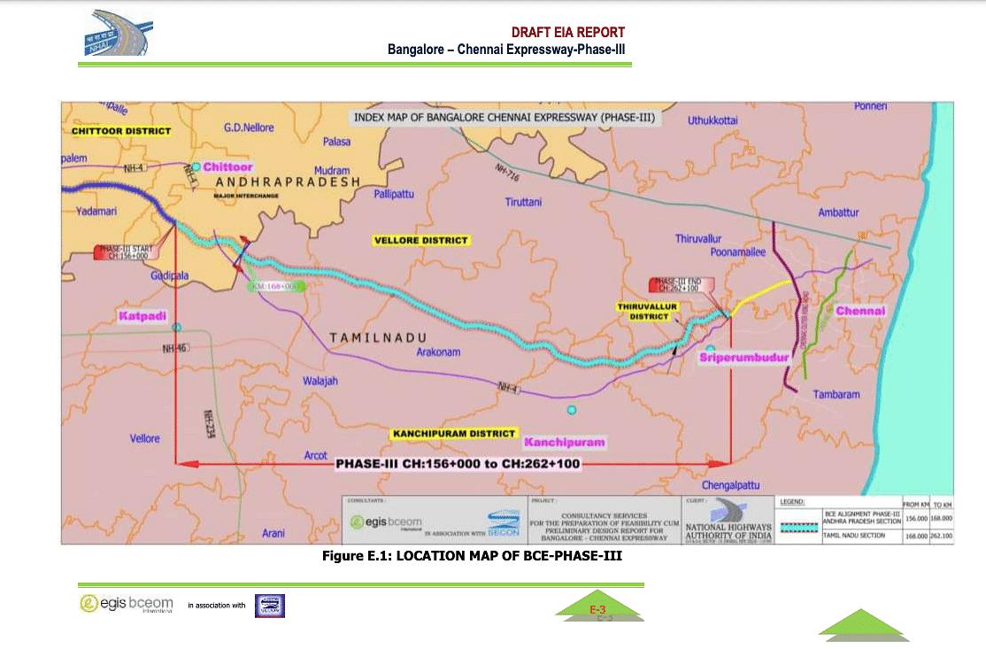 Chennai - Bengaluru Expressway