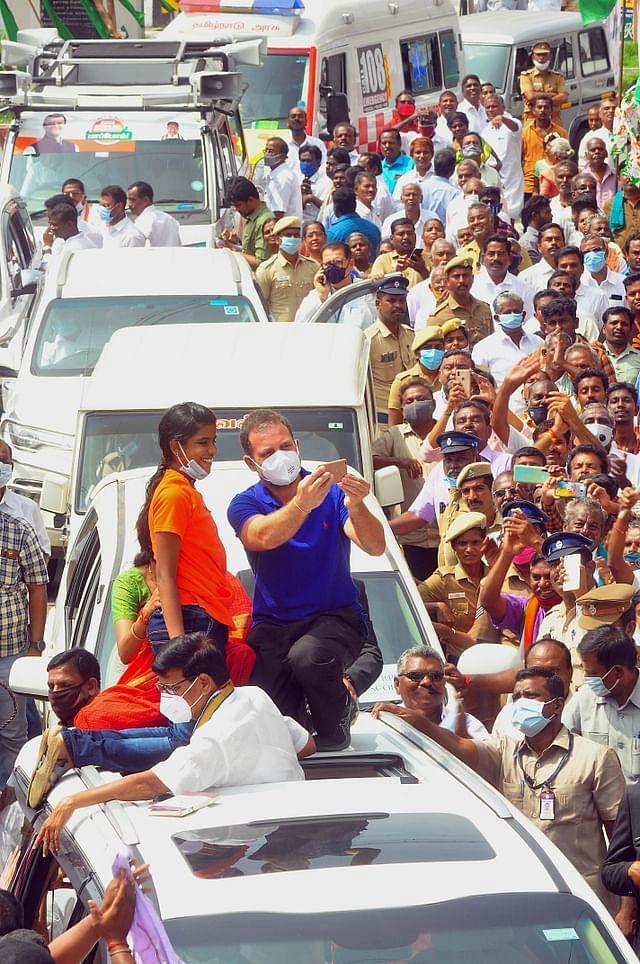 ராகுல் காந்தி தேர்தல் பிரசாரம்