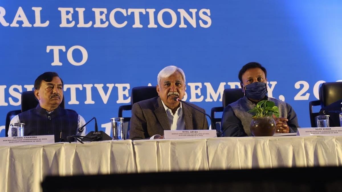 தலைமை தேர்தல் ஆணையர் - செய்தியாளர் சந்திப்பு