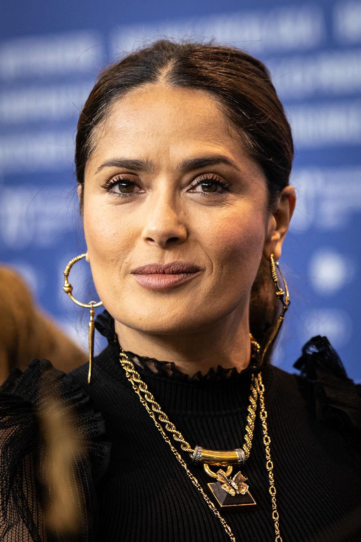 Actress Salma Hayek at the 70th Berlin International Film Festival 2020