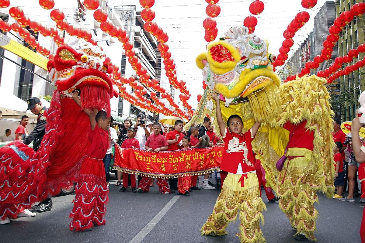 Lion Dance | சீனப் புத்தாண்டு
