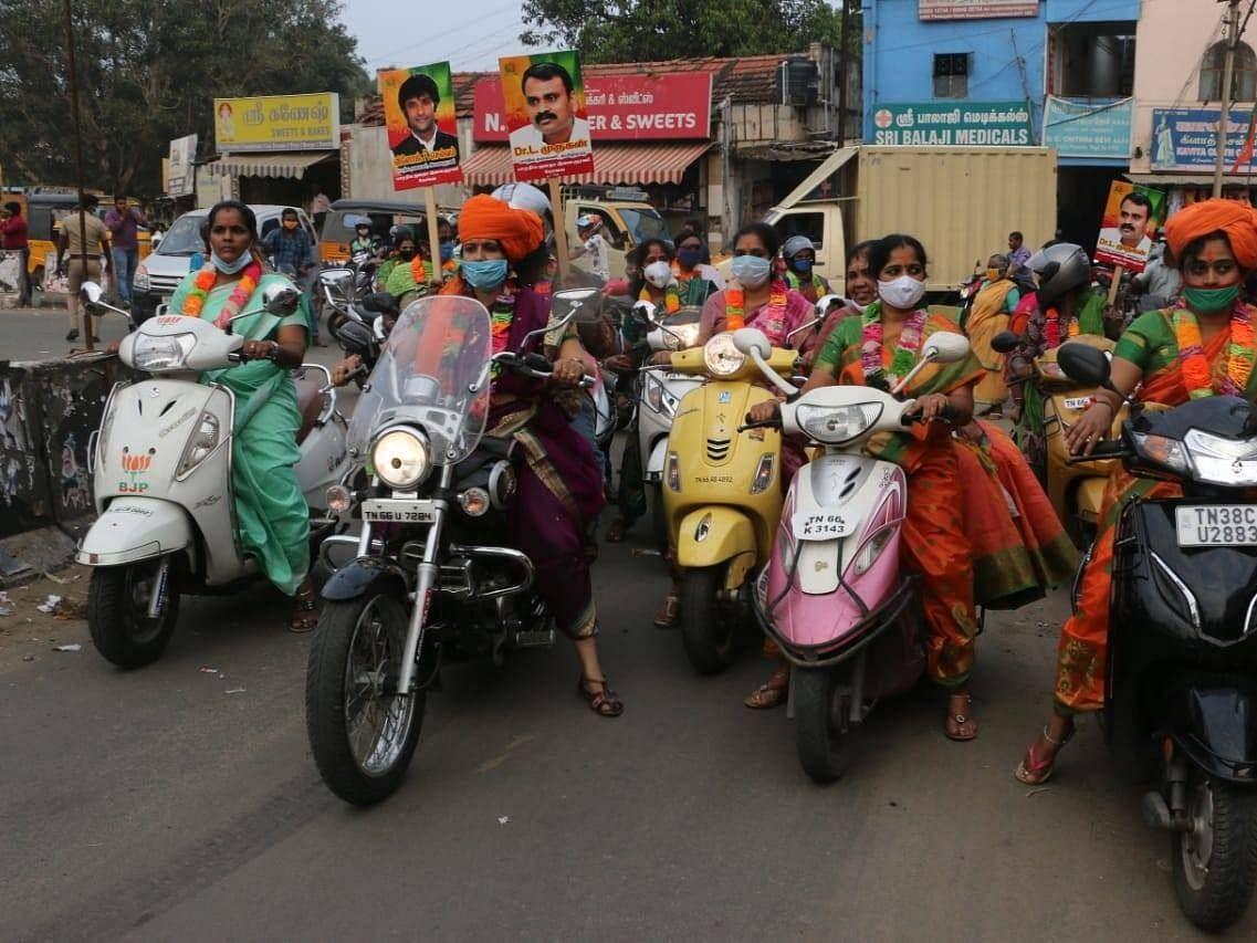 பெண்கள் படையைக் களமிறக்கும் பா.ஜ.க! - லிஸ்ட்டில் யாரெல்லாம் இருக்கிறார்கள்..?