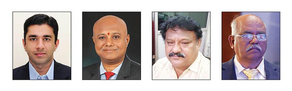 ஹரி தியாகராஜன், எம்.வி.ரமேஷ்பாபு, ஜேம்ஸ், எம்.இந்துநாதன்