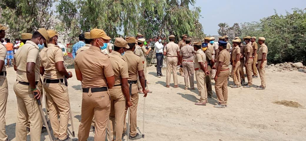 காஞ்சிபுரம் கல்குவாரி விபத்து