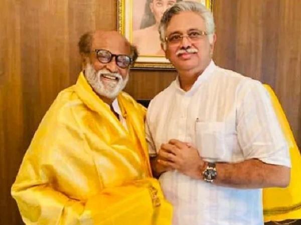 ''ரஜினிகாந்தை நம்பி, அவரோடு இணைந்தேன். ஆனால்...'' - விளக்குகிறார் அர்ஜுனமூர்த்தி