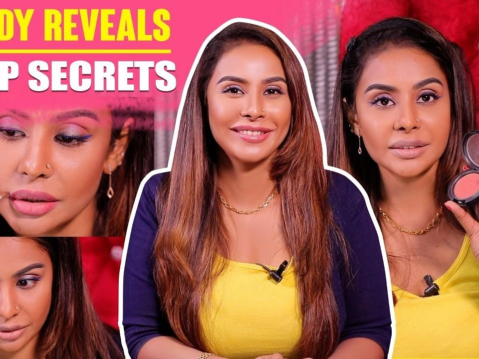 EXCLUSIVE: `Celebrity போல Makeup போடுவது எப்படி?'- Sri Reddy Makeup Tutorial in Tamil | Say Swag