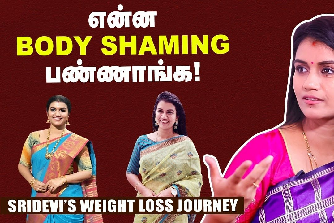 sridevi weight loss