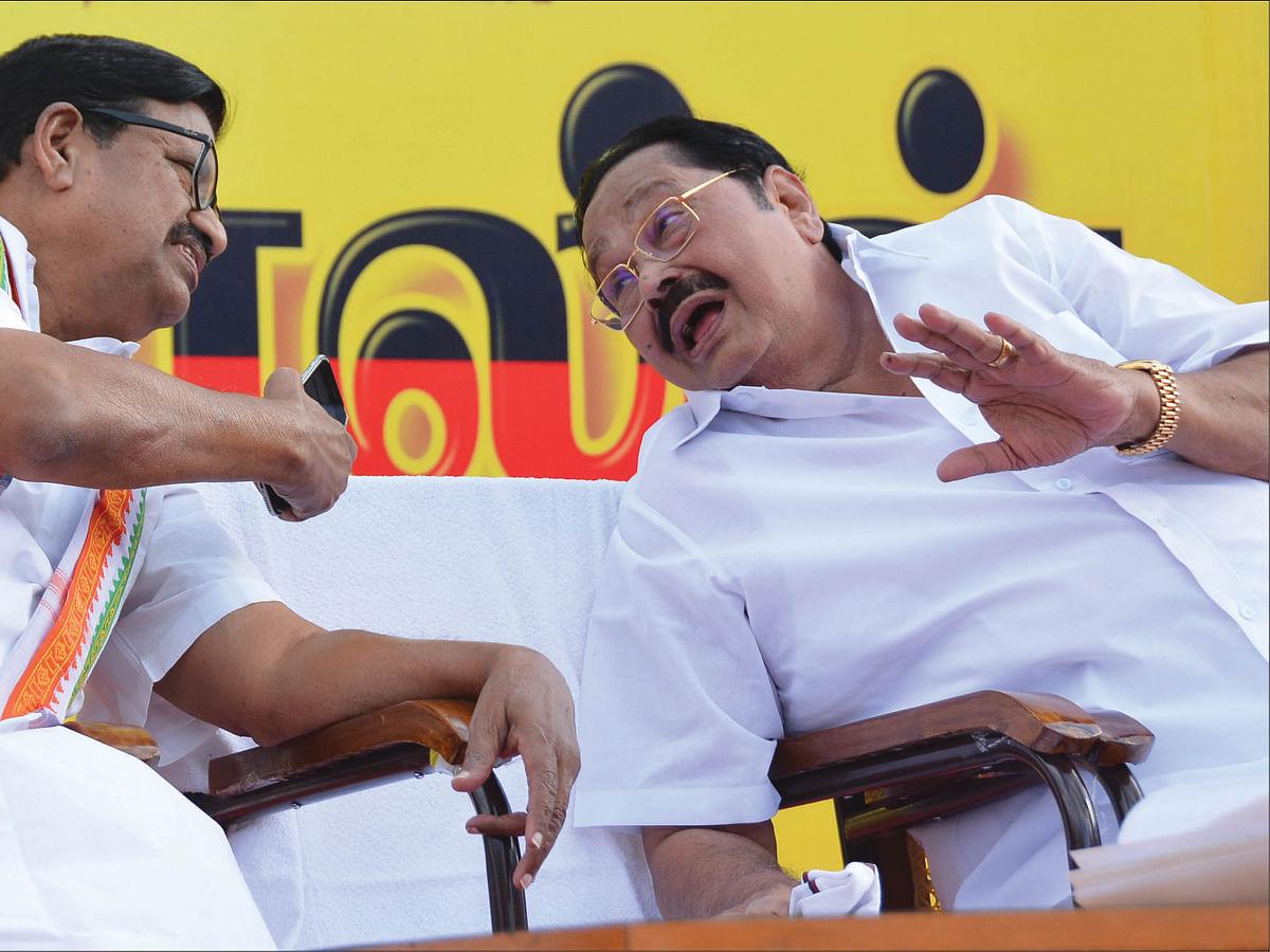 கே.எஸ்.அழகிரி - துரைமுருகன்