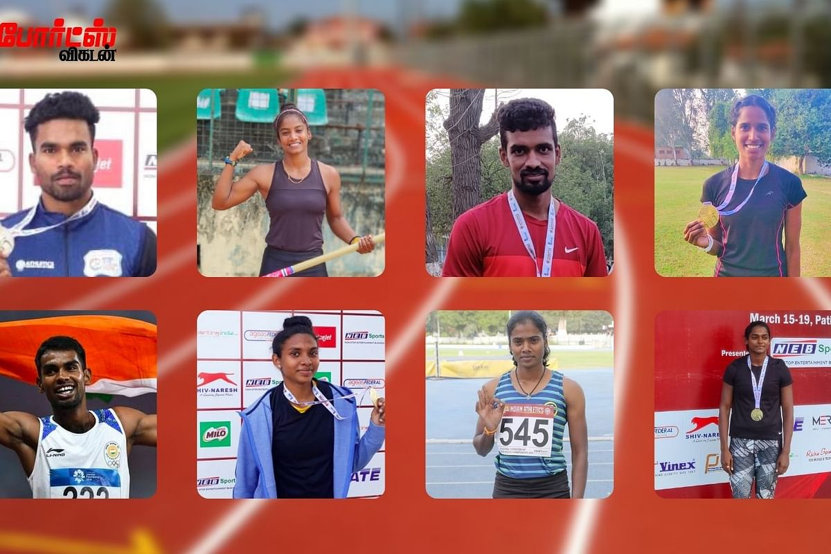 The 8 gold medalists of Tamil Nadu