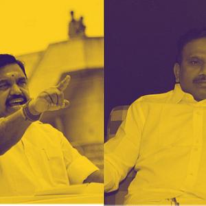 எடப்பாடி பழனிசாமி & ஆ.ராசா
