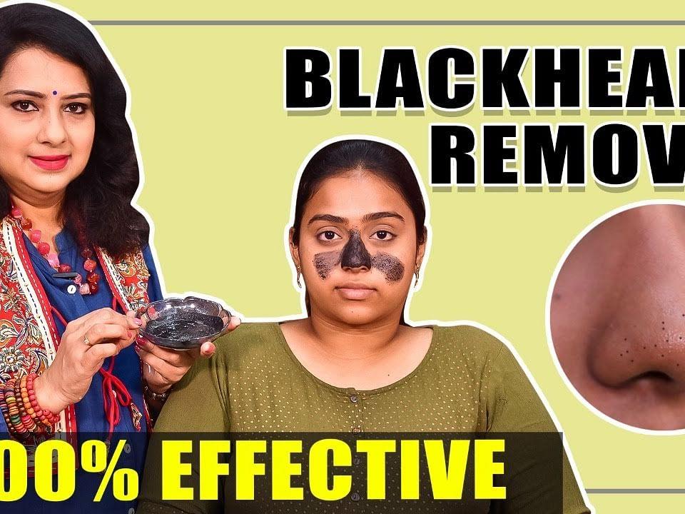 Blackheads-க்கு நிரந்தர தீர்வு!   Natural Home Remedies   Vasundhara Tips   Say Swag