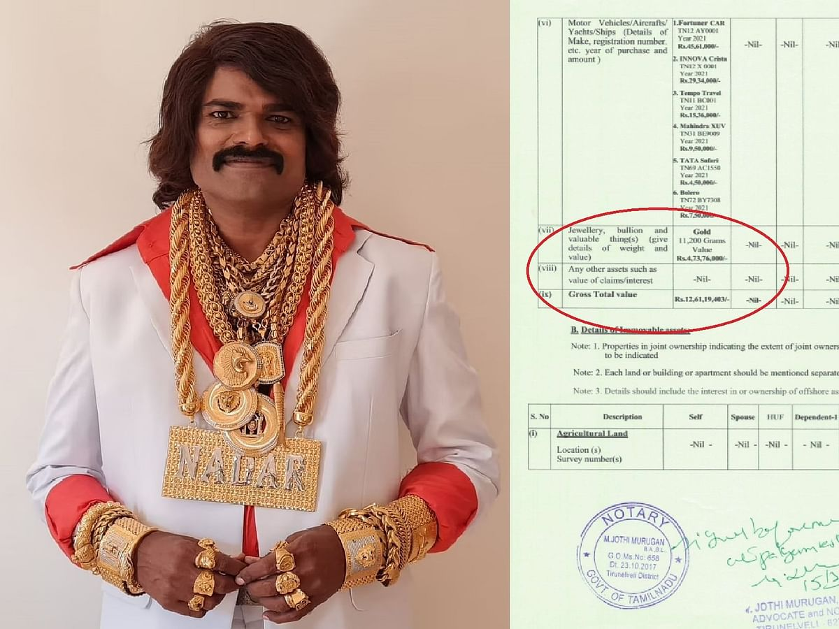 11,200 கிராம் தங்கம் - அடேங்கப்பா... ஹரி நாடாரின் சொத்து மதிப்பு எவ்வளவு தெரியுமா?