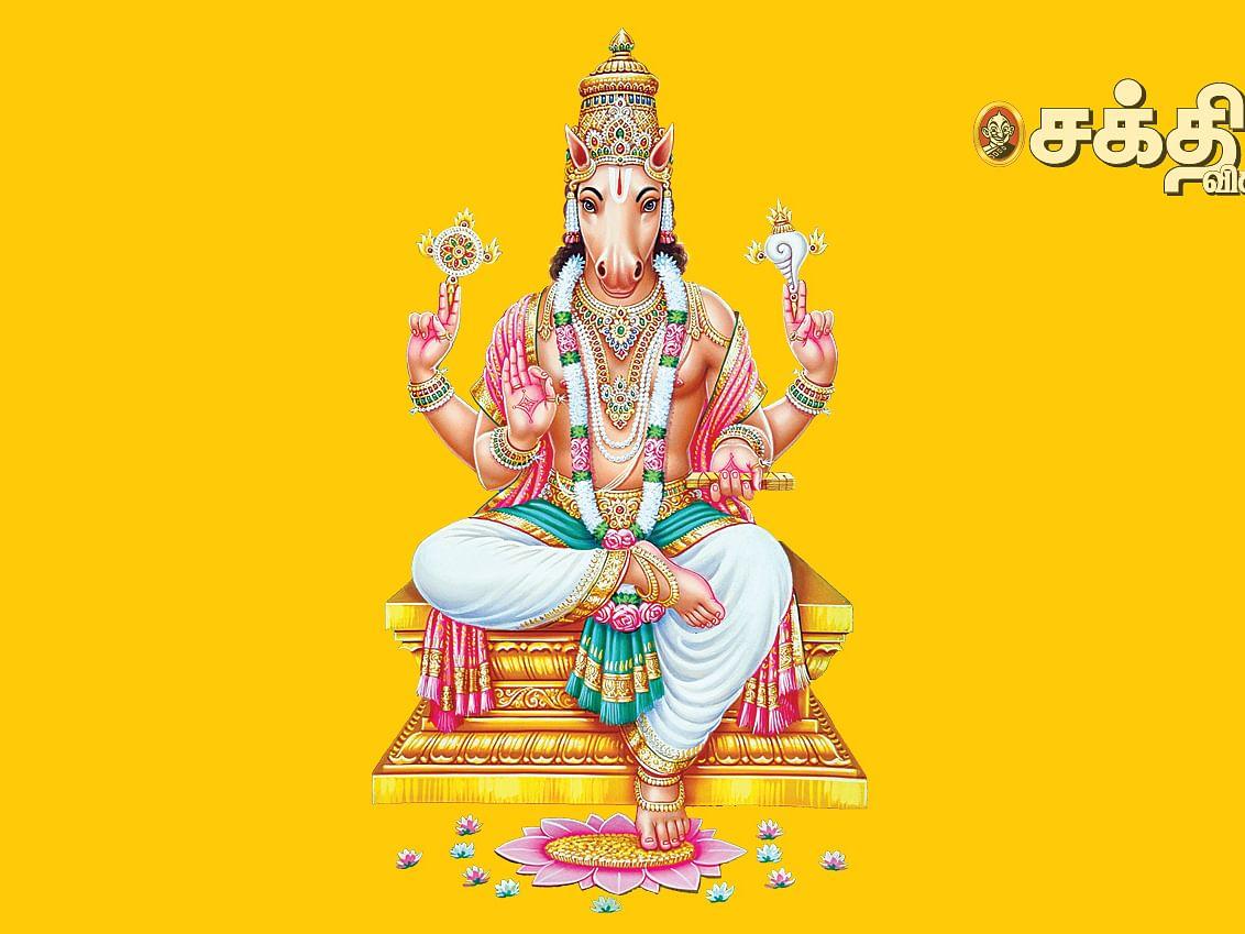 சேஷ தீர்த்தத்தில்  பால், வெல்லம் சமர்ப்பணம்!