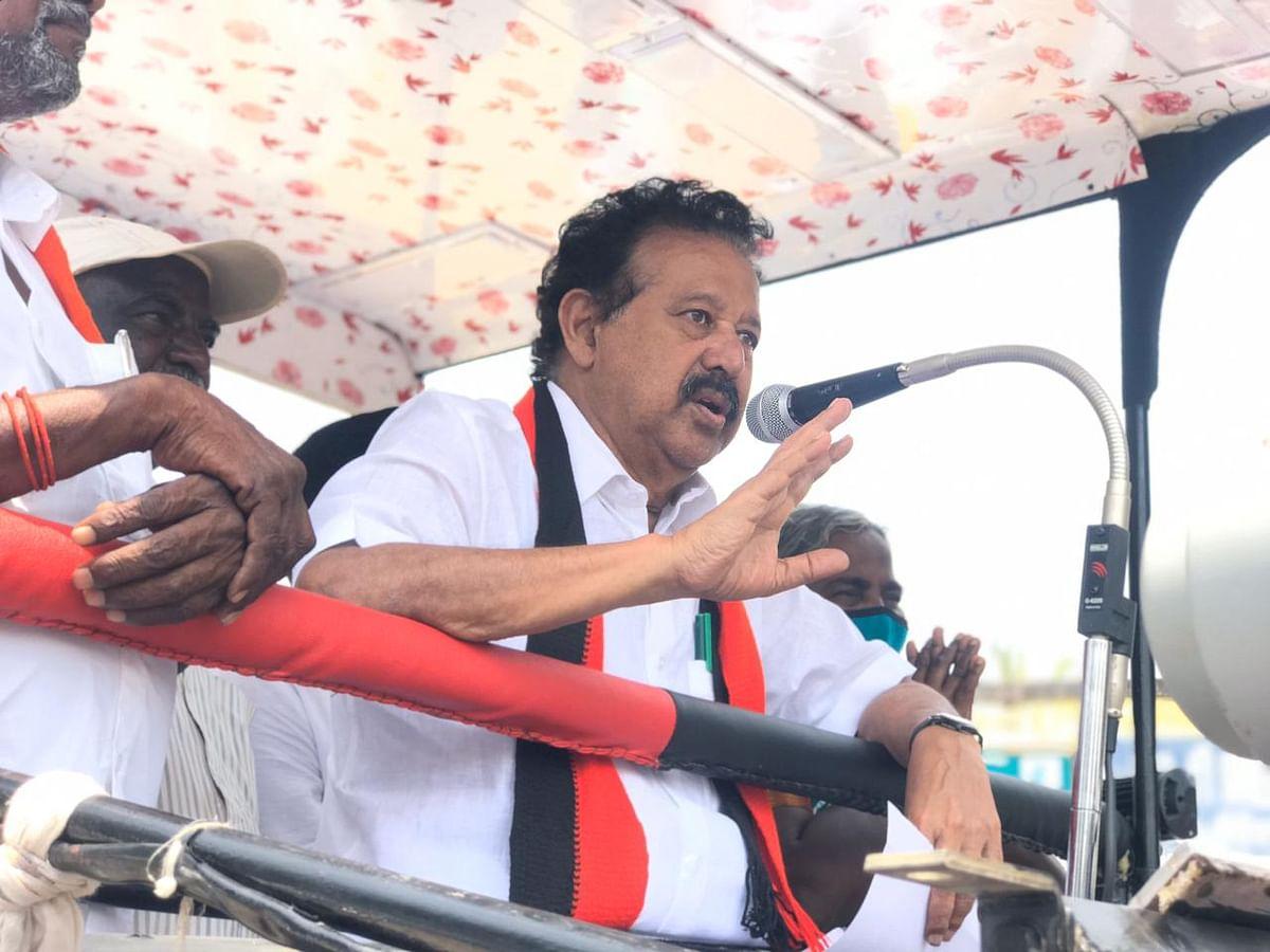 தேர்தல் பிரச்சாரத்தில் க.பொன்முடி