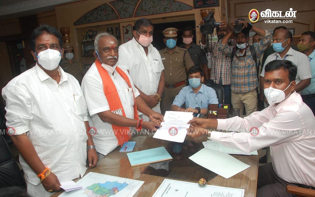 """குமரி: """"காங்., திமுக-வினர் கண்களுக்கு மட்டும் மேம்பாலம் ஆடுவது தெரிகிறதாம்"""" - பொன்.ராதாகிருஷ்ணன்"""