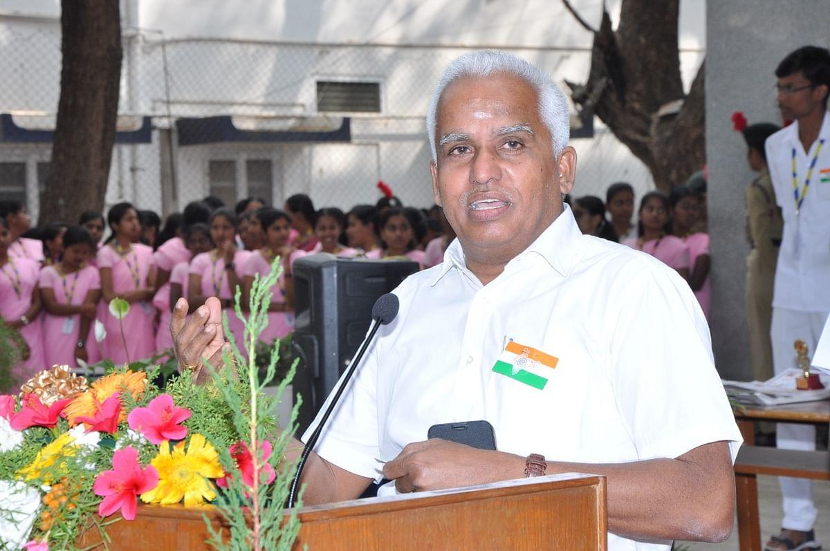 பேராசிரியர் கனகசபாபதி, தமிழக பா.ஜ.க மாநில துணைத் தலைவர்