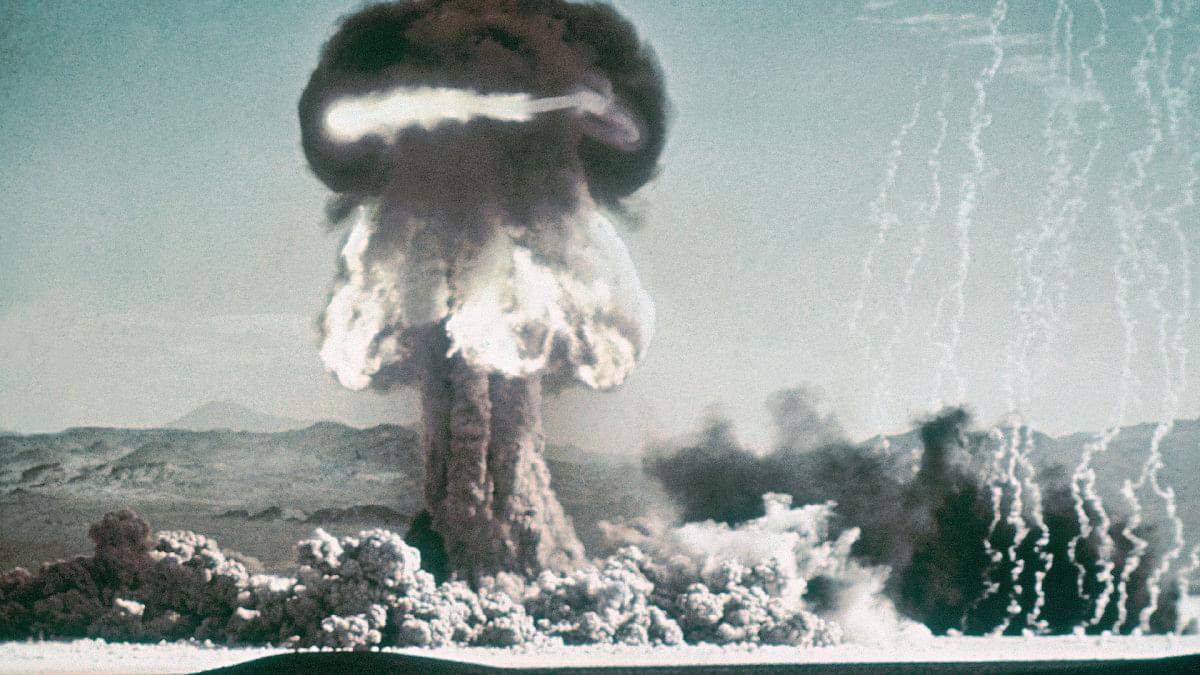 முதல் அணு ஆயுதப் பரிசோதனை   First Nuclear bomb test