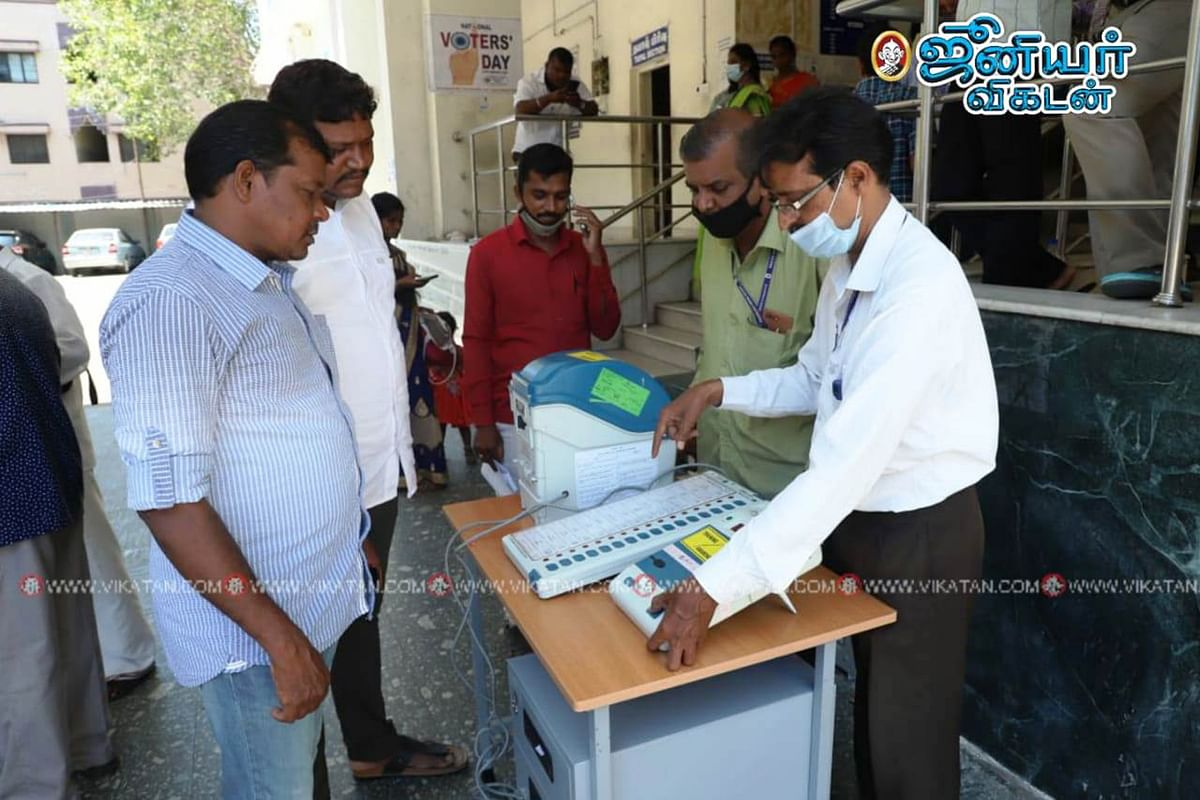 TN Election Live updates 2021: தமிழகத்தில் 71.79 சதவிகித வாக்குகள் பதிவு! -  சத்யபிரதா சாகு