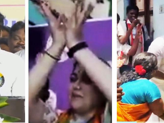 தமிழக தேர்தல் பிரசாரத்தில் நடந்த கல...கல... சம்பவங்கள்!   Election Funny Moments