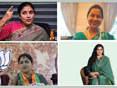 `ஜெயலலிதா பற்ற வைத்த நெருப்பு'... நடிப்பு டு அரசியல்... களம் கண்ட பெண் வி.ஐ.பி.,க்கள்!