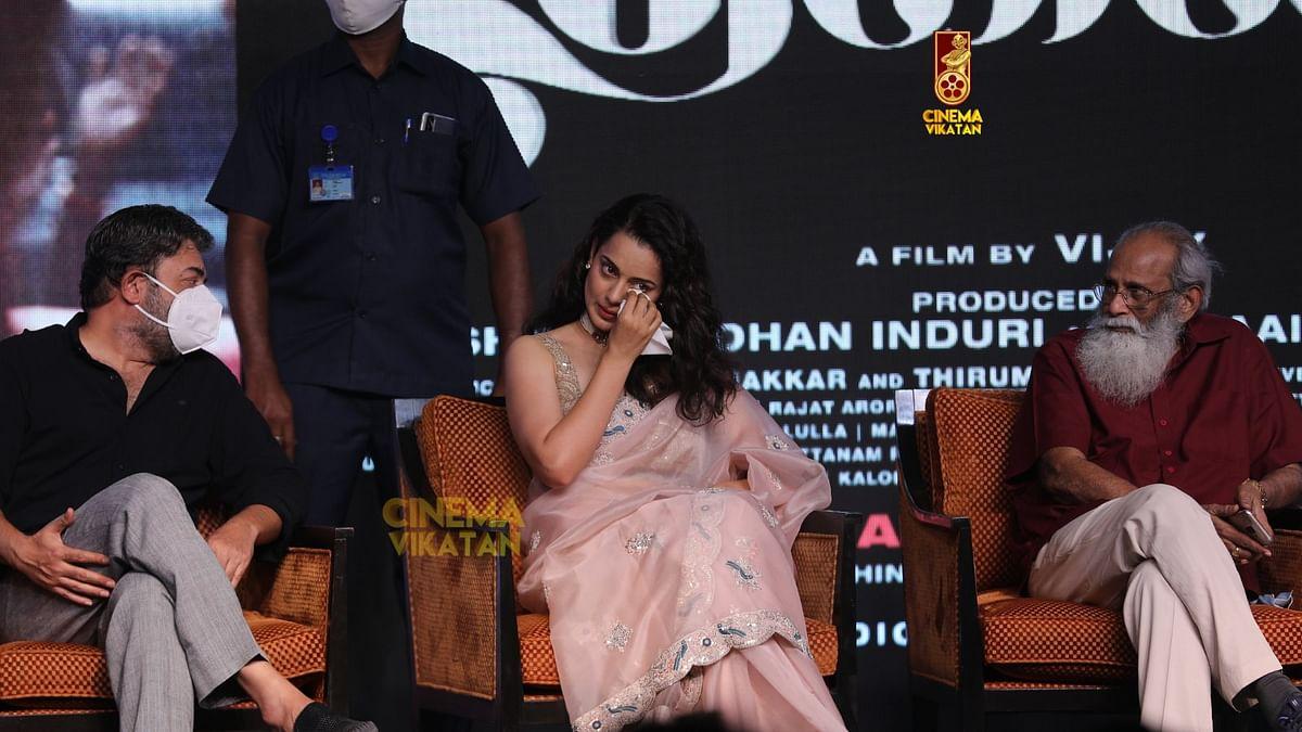 அரவிந்த்சாமி -  கங்கனா ரணாவத் - விஜேந்திர பிரசாத்